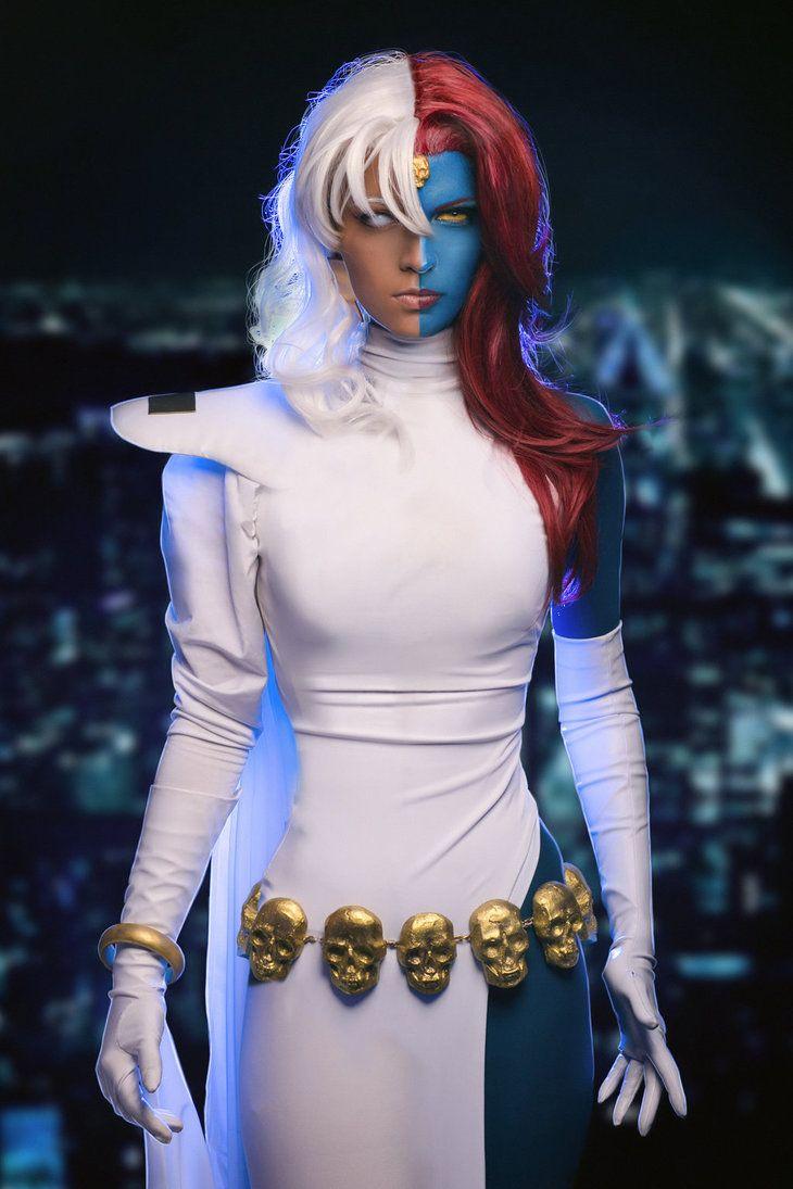 Marvel Comics - Mystique & Storm Cosplayer: Shade Cramer & Contra Mundi Photographer: Dzeta&Aiger photo [DA]