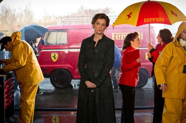 Rush the Scuderia Ferrari Renault Estafette with Niki Lauda's wife Marlene, played by Alexandra Maria Lara.