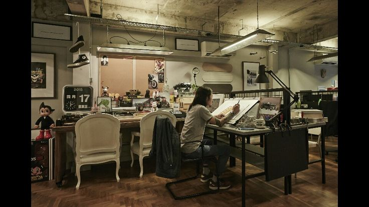 Cosy environment working style in an urban society by three-d conceptwerke studio, singapore