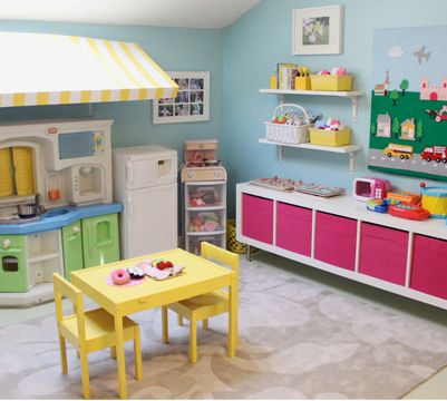 5 Really Fun Pretend Play Spaces for Toddlers
