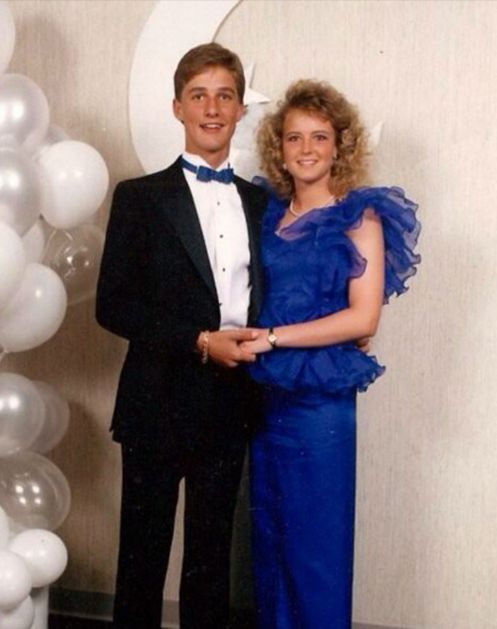 10 Awkward Celebrity Prom Photos via @PureWow: MATTHEW MCCONAUGHEY Alright, alright, alright.