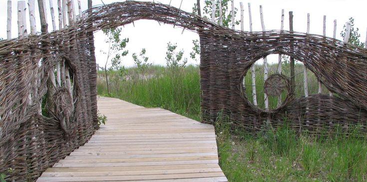 Structures Saule De Jardin Conteneurs De Tas De Compost