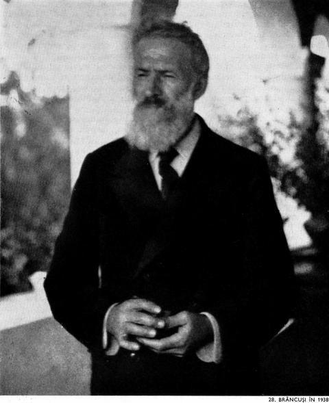 constantin brancusi | Constantin Brancusi in 1938