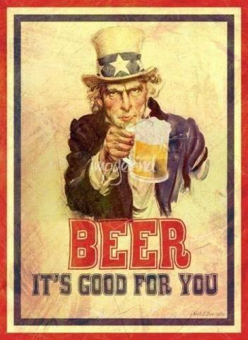 Placas Decorativas Vintage Cervejas