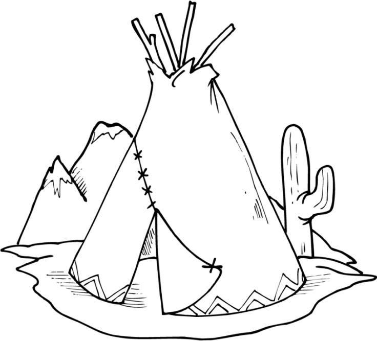 Native American Coloring Pages Printable