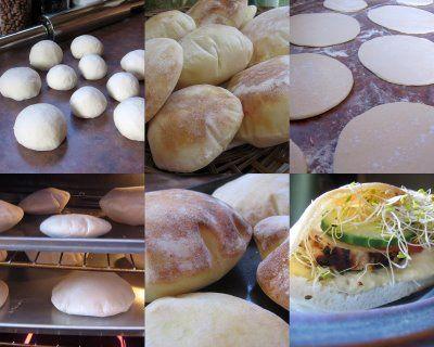 Pod Dětská židlička: DIY: Pita chléb
