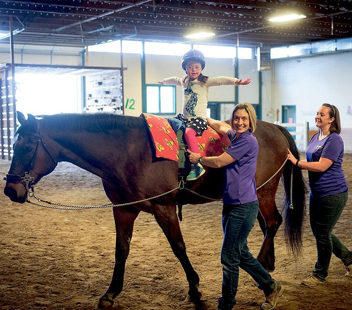 Not just horse play: TherAplay uses hippotherapy to help children with special needs