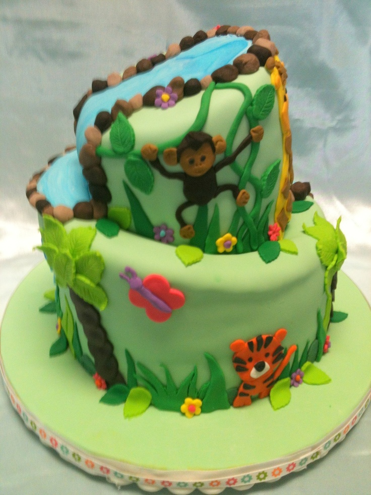 baby shower cake jungle baby showers crazy cakes 3d cakes tiered cakes