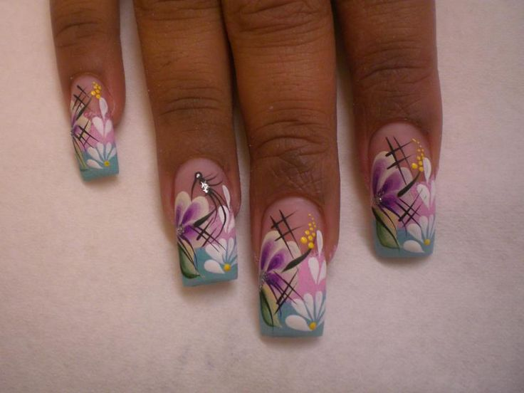 The 22 best Arte de uñas images on Pinterest | Nail arts, Nail ...
