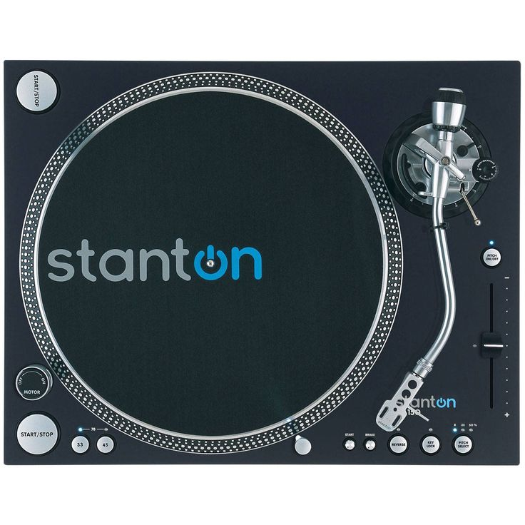 """Stanton ST-150 HP High Torque Digital Turntable """"S"""" Tone Arm Record Player"""