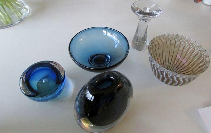 Art glass from Scandinavia * beauties from the last Midcentury * check them on http://de.dawanda.com/product/76284251-Design-Kerzenleuchter-Tapio-Wirkkala-Iittala-GLAS