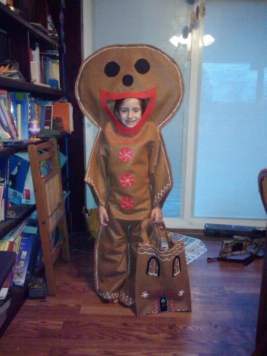 Gingerbread man costume Gingerbread man costumes