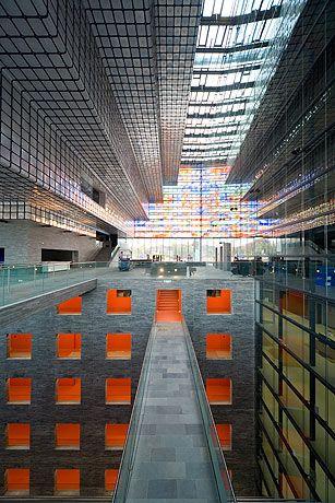 (designed by Dutch firm Neutelings Riedijk Architects)