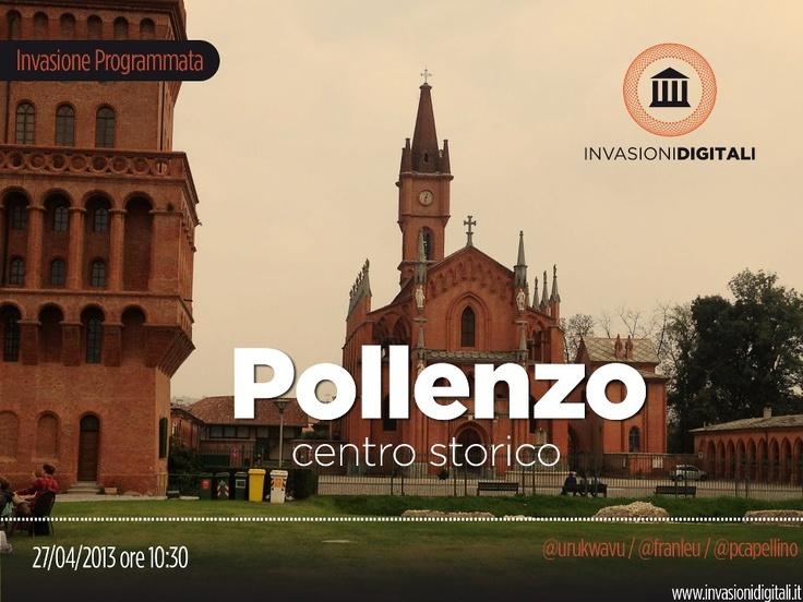 #InvasioniDigitali di Pollenzo il 27 aprile alle ore 10.30 Invasori:  Urukwavu,  Franleu, Pcapellino