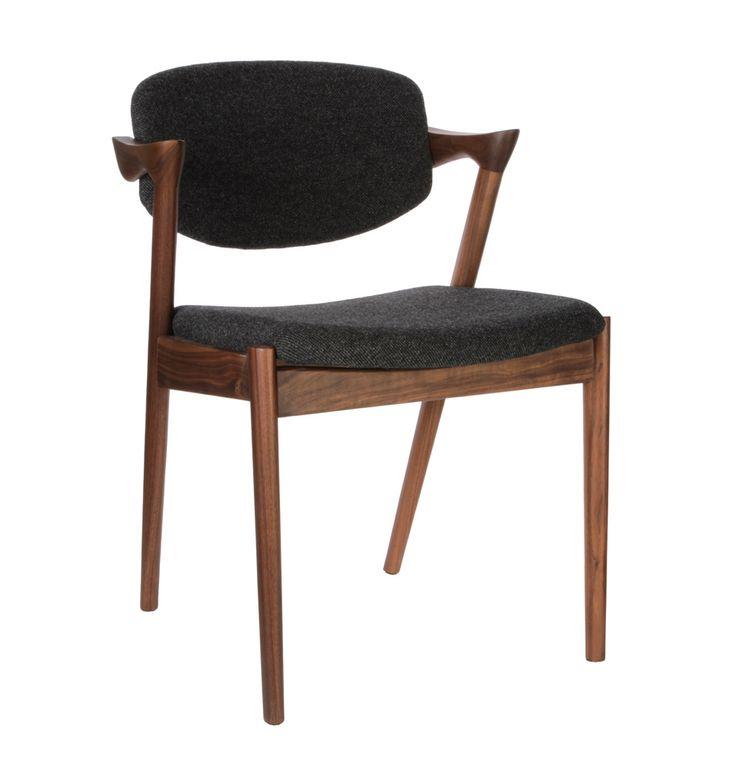 Replica kai kristiansen 39 kai 39 dining chair fabric by kai kristiansen matt blatt dulce - Kai kristiansen chair ...