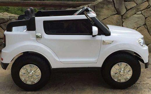 COCHES TELEDIRIGIDOS PARA LLEVAR NIÑOS - 2 PLAZAS - BMW X5 STYLE 12V BLANCO 4x 12v, IndalChess.com Tienda de juguetes online y juegos de jardin
