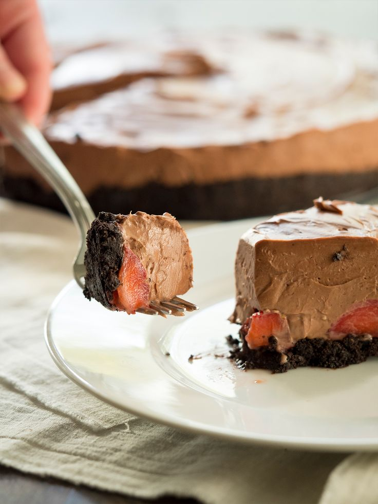 Creamy Chocolate Oasis Pie