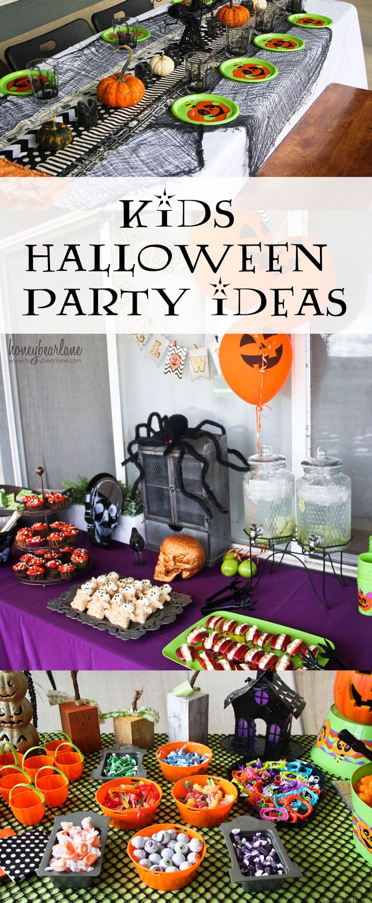 Halloween birthday party decorations - Kids Halloween Party Ideas