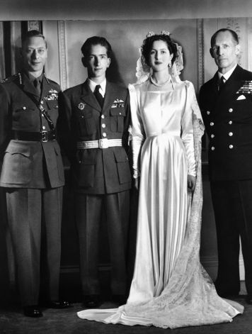 Princess Alexandra of Greece + Denmark & King Peter II of Yugoslavia :: March 20, 1944