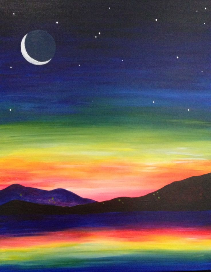 Neon Moon at Pinot's Palette - Woodlands