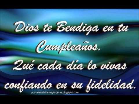 FELIZ CUMPLEAÑOS CANCION CATOLICA - YouTube