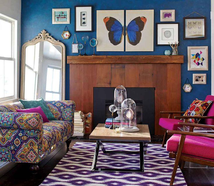 Bohemian Living Room by World Market