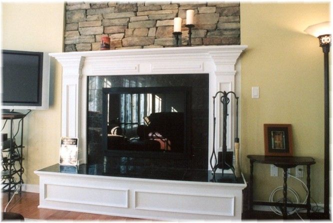 Brick Fireplace Mantel Classic Traditional Makeover
