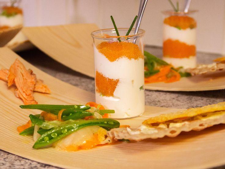 Norrländsk förrättstallrik med fransk crudité | Recept.nu