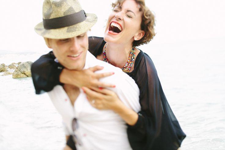 Photography: Jimena Roquero - jimenaroquero.com  Read More: http://www.stylemepretty.com/destination-weddings/2014/04/07/sun-filled-engagement-in-ibiza/