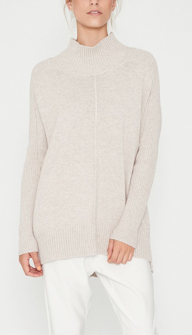 Elka Collective - Canyon Knit In Oatmeal Marle