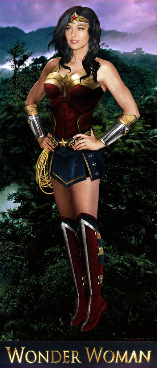 Wonder Woman Live-Action Movie Costume Design By Fanboiii -1315