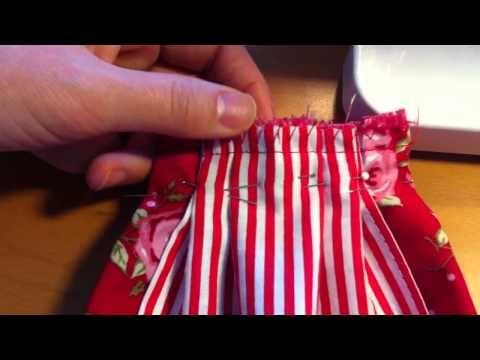 Sewing Tilda's dress part 1