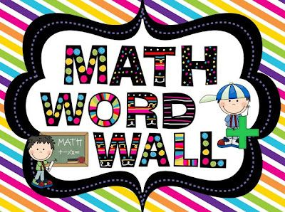 25+ best ideas about Math word walls on Pinterest | Geometry words ...