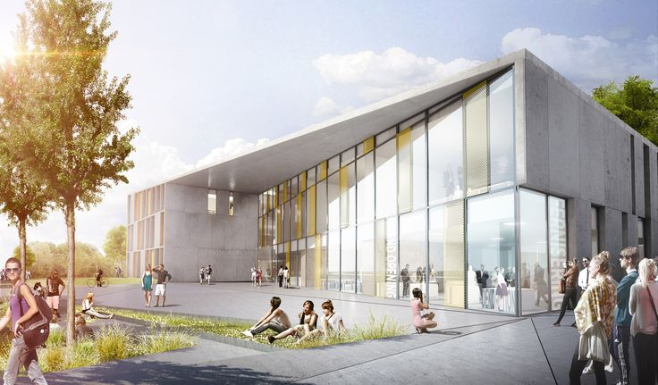 C.F. Møller Selected to Design Vocational School in Denmark,Courtesy of C.F. Møller Architects