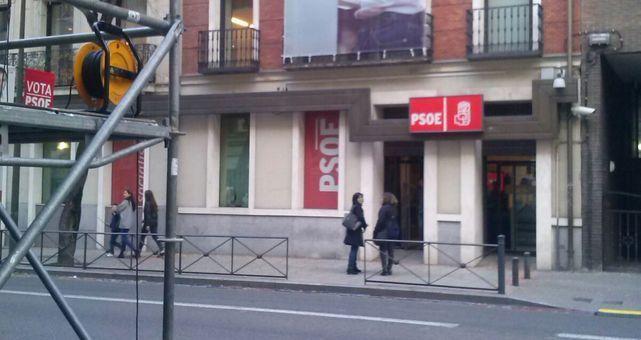 El PSOE cita a la Guardia Civil en Ferraz
