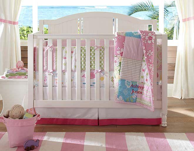 Pottery Barn Kids Lavender Bedding Curtains Set