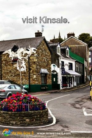Kinsale is a quintessential picturesque town on Ireland's south coast.