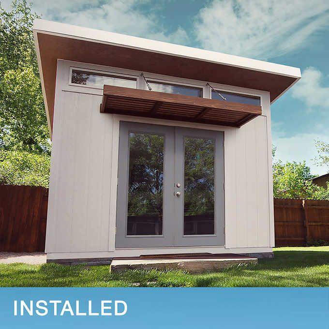 Installed Sheds By Yardline Flatiron Shed In 2020 Shed Outdoor Storage Sheds Backyard Storage Sheds