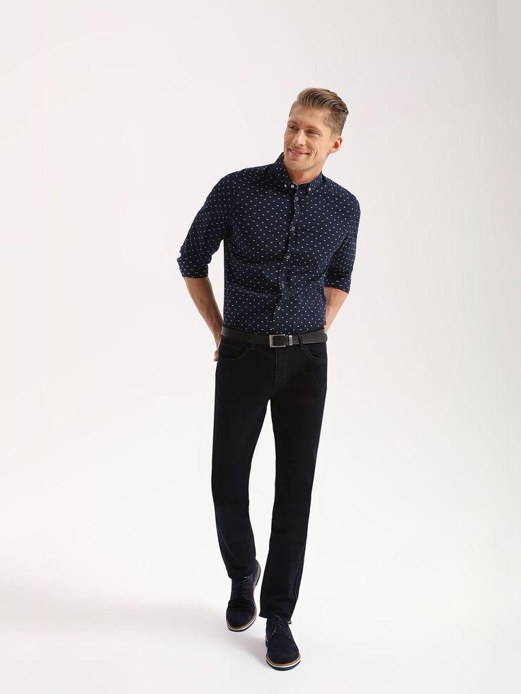Eleganckie koszule męskie, wygodne bawełniane koszule na co dzień, koszule slim fit - Atrakcyjne wzory, światowe trendy, zabawa stylem. Oryginalna odzież męska do pracy i po godzinach. Modne koszule męskie w różnych kolorach... Obejrzyj kolekcję!