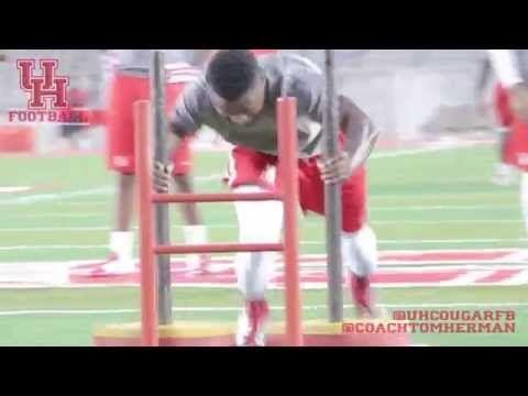 Houston Cougar Football Offseason Workout Video - IBOtube