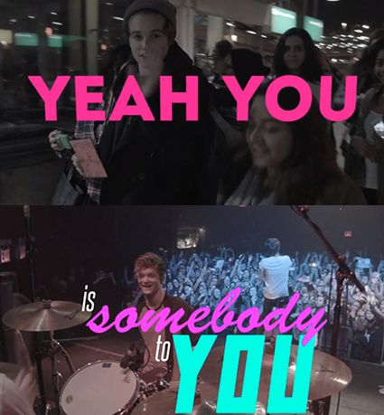 The Vamps Somebody to You lyric video - The Vamps images - sugarscape.com