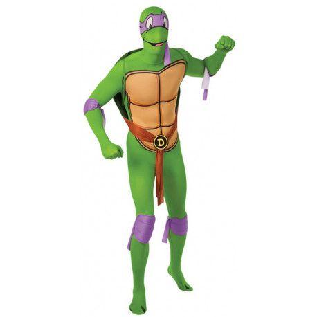 Disfraz de Donatello Tortuga Ninja Segunda Piel #TMNT #Costume #Donatello