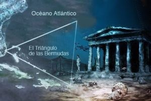 Habrían hallado la Atlántida en el Triángulo de las Bermudas