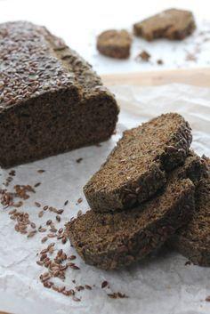 chleb z siemienia lnianego, bez mąki. przepis podstawowy
