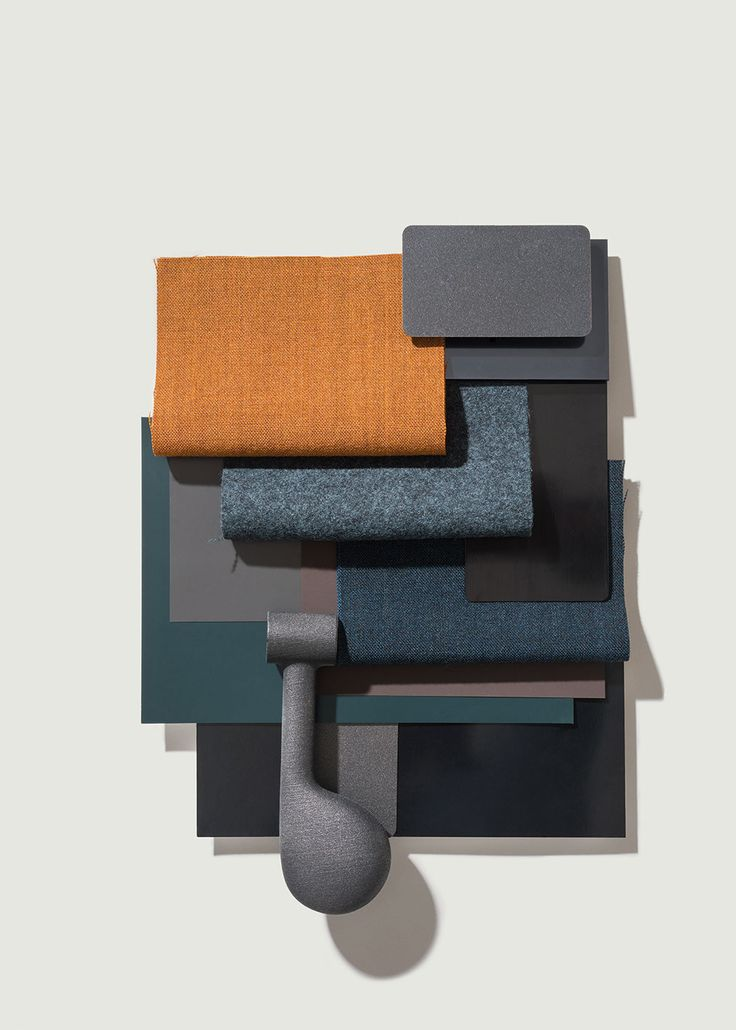 Material inspiration for Catifa 53 by lievore altherr molina