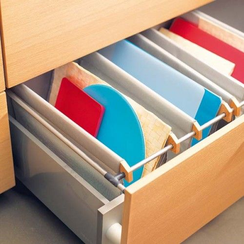 57 practical kitchen drawer organization ideas