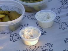 Ina Garten's recipe for Tartar Sauce from Barefoot Contessa on Food Network is fresher than the store-bought stuff, and it's so easy it takes only five minutes.