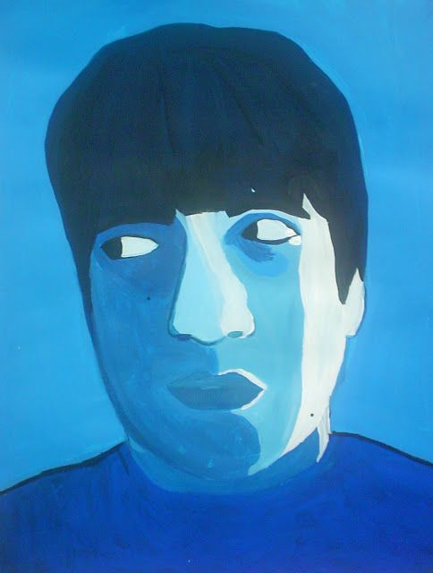 Blue Paintings in the Style of Pablo Picasso   Lessons from the K-12 Art Room