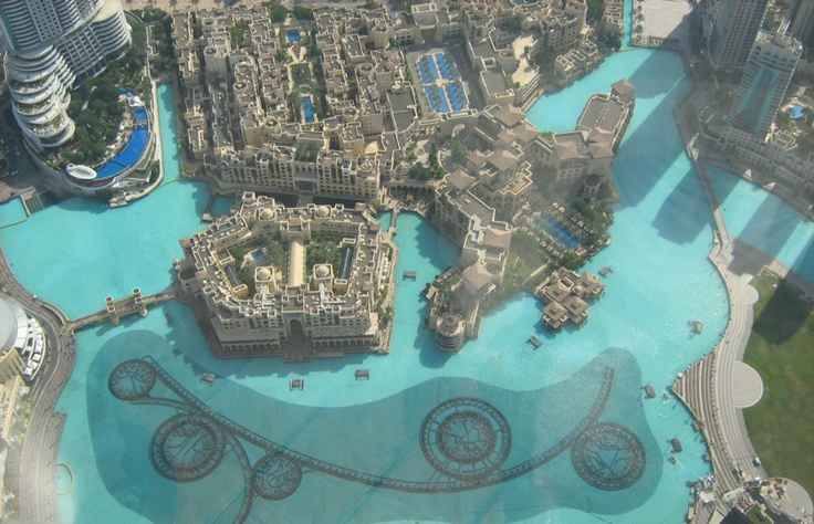 The Palace Hotel from the Burj Khalifa |Pinned from PinTo for iPad|