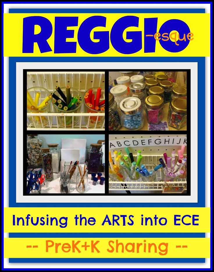 A Reggio Approach to Early Childhood Education at PreK+K Sharing